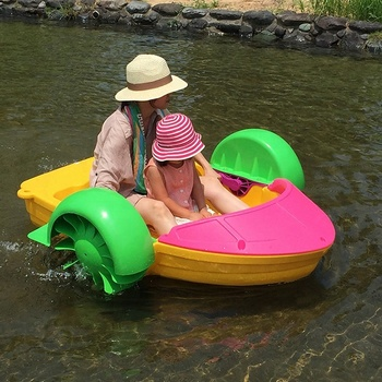 Cheap and exciting CE Paddle boat power by hand for kids and adults