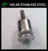 stainless steel glass handrail fitting standoff