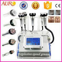 Au-46B Best selling products Vacuum Ultrasonic Cavitation RF slimming cellulite massage machines for small bussine at home use