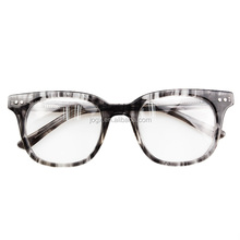 2018 most popular fancy style square frame shape acetate eyeglasses