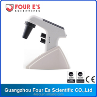 Four E's Scientific CE Certificated Large LCD Display Pipette Controller with Replaceable Filter and Adapter