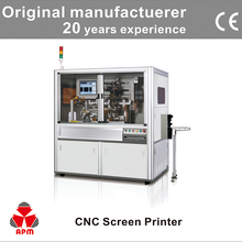 CNC102 High Quality Automatic Loading System Glass Bottle Silk Screen Printing Machine
