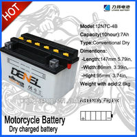 High quality motorcycle battery factory can delivery goods in time