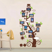 Myway DIY Mural Decal Living Room Decor Family Vinyl Photo Frame Tree Wall Sticker