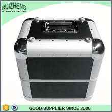 China professional beauty aluminum ABS cosmetic box
