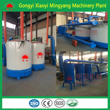 ISO & CE High heating value Long burning time bio coal briquette making machine/wood branch carbonizer stove+86-13838391770