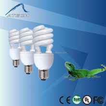 13W/26W 2.0( Natural Light) Reptile Energy Saving Bulb, Reptile Lamp, UVB Fluoresent Lamp For Snakes or Amphibians