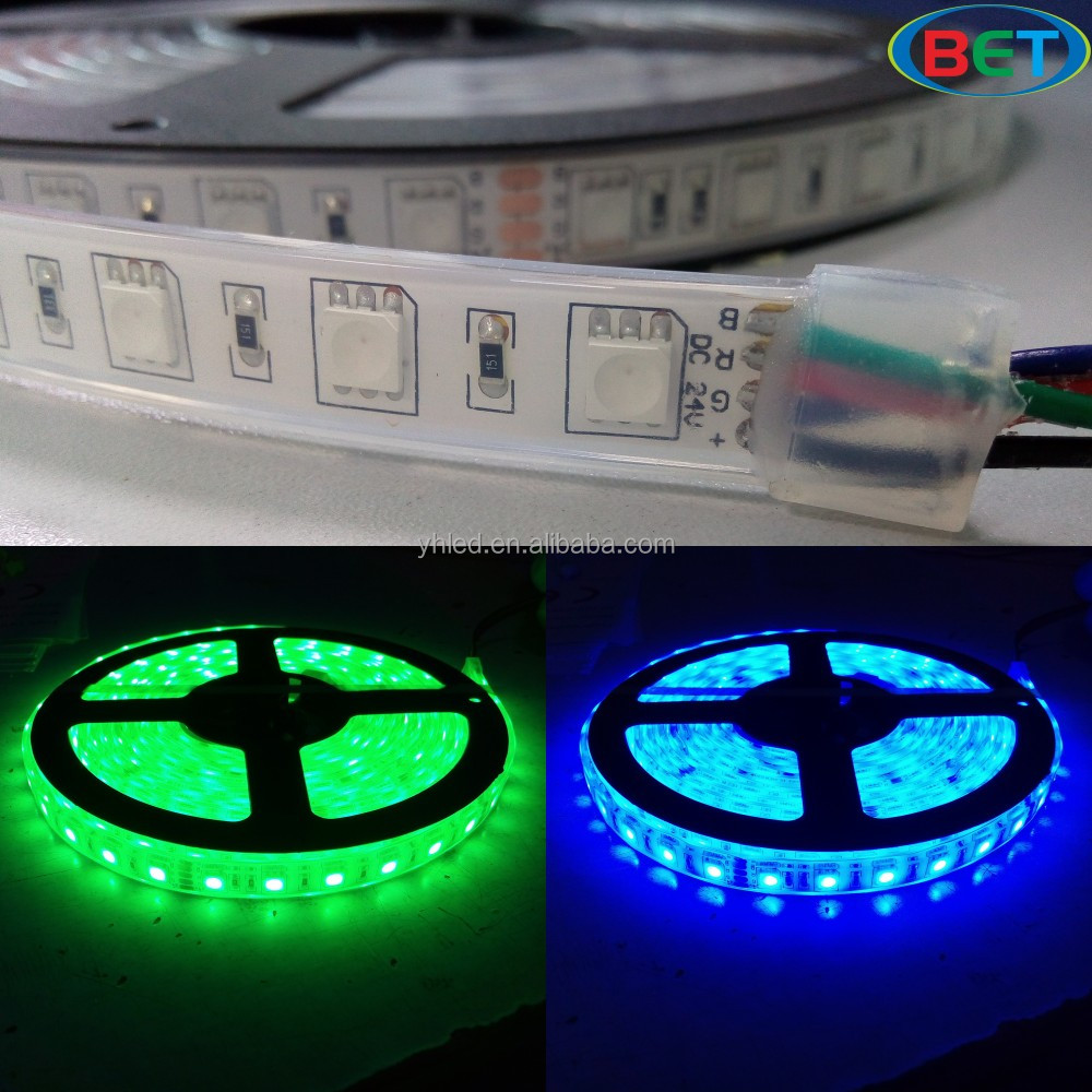 12V&24V flexible strip 5050 IP20&IP5& IP68 waterproof 12 volt led lights 14.4w/m led strip