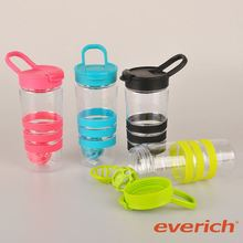 high quality wholesale protein heat-transfer printing protein shake bottle