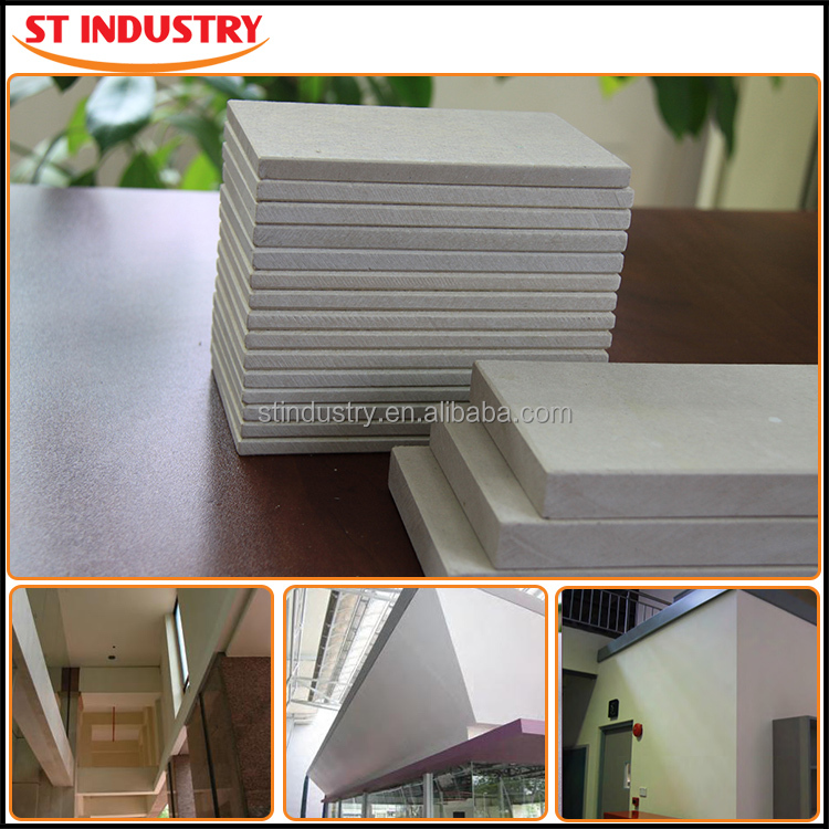 Light weight but strong 6mm to 20mm calcium silicate base board