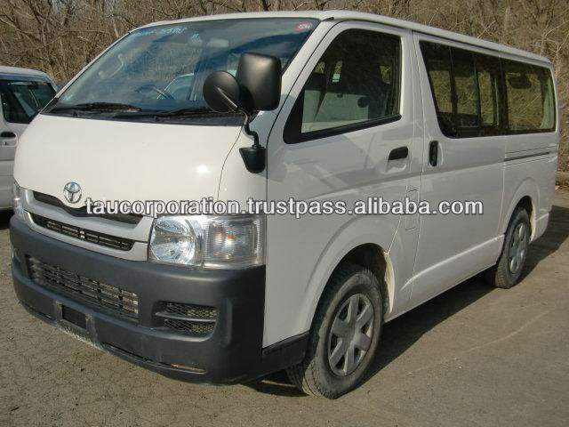 Japanese used toyota hiace diesel van sale by export company