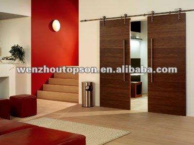doble corredera granero hardware de la puerta y hardware de la puerta corredera de madera