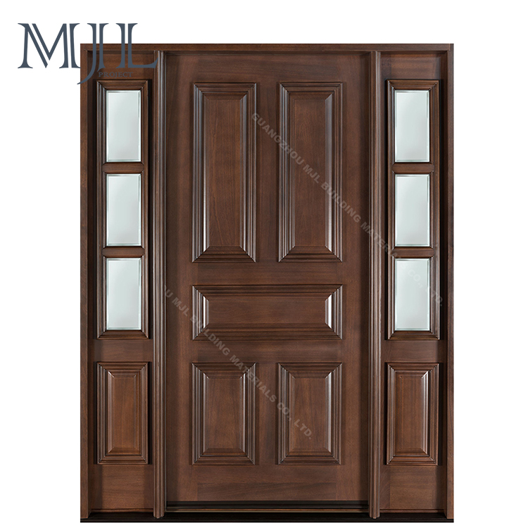 China Exterior Wood Doors China Exterior Wood Doors Manufacturers