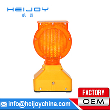 HEIJOY-STL-18 led rotating beacon flashing lights Solar traffic lights