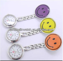 Smiling Nurse pocket watch Yellow