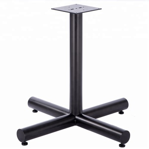 Steady  Cast Iron Table Base  center table leg Dinner table leg for Furniture leg