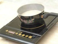 Comercial induction cooker double burners