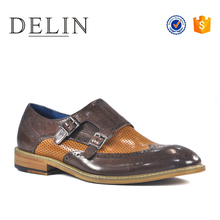 Latest model sample supply men dress shoes formal genuine leather shoes