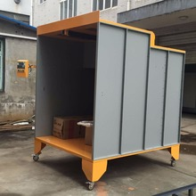 Manual Powder Coating Spray Painting Booth Price