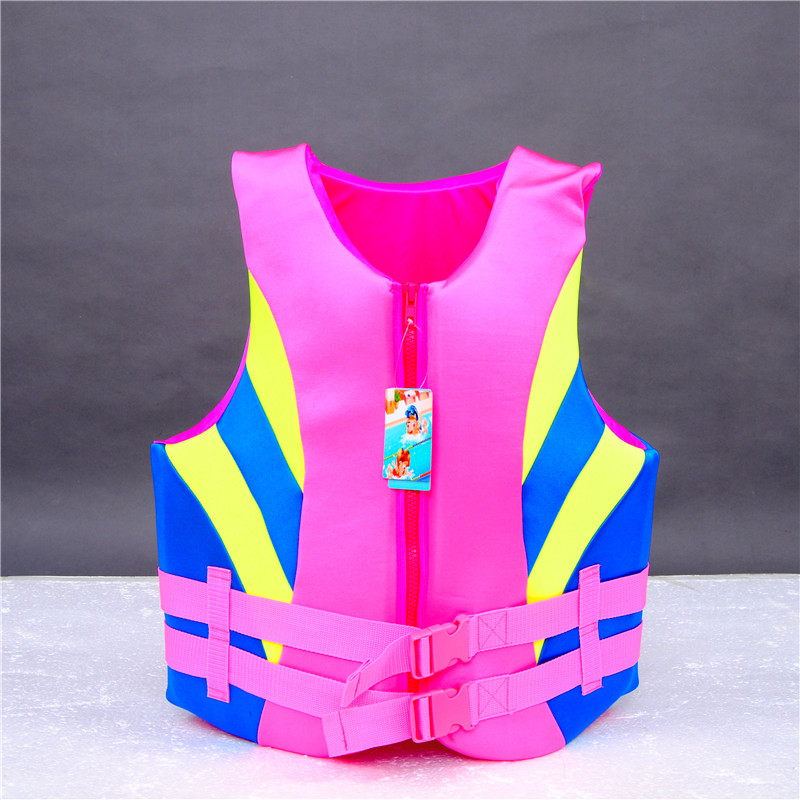 Female reflective vest safety durable EPE foam swimming snorkeling float jacket