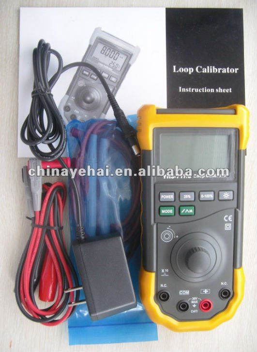 HART Mode Digital Loop Process Calibrator similar to Fluke 707