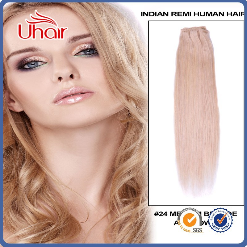Top quality 6A unprocessed clip in halo hair extensions gray remy hair extensions free sample free shipping