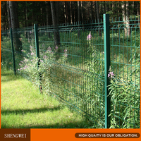 Cheap green wire mesh fence for garden