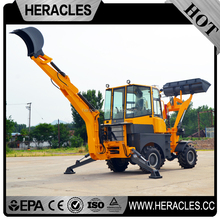 Heracles small garden backhoe with price lawn tractor loader