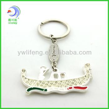 Custom Venice boat Key Chain