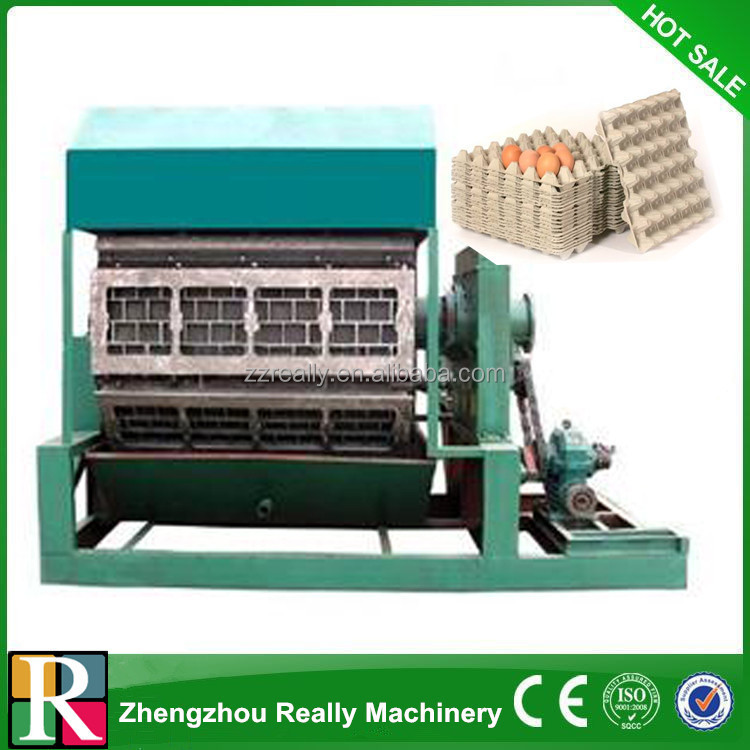 egg tray machine technology from Europe/fruit/egg box pulp moulding production line/paper recycling equipment