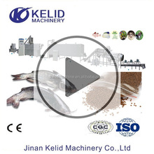 Fully Automatic Floating Fish Feed Pellet Extruder Mill Making Machine