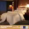 Soft Feel, Classic White, Nature Modal Cotton Hotel Bedding Set/ Duvet cover/ Flat Sheet/ Pillow Cover with High Quality