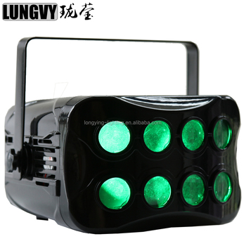 2*20w 7IN1 LED Butterfly DJ Disco Lights DMX Stage effect lights KTV Bar Club Party Wedding Stage Lighting