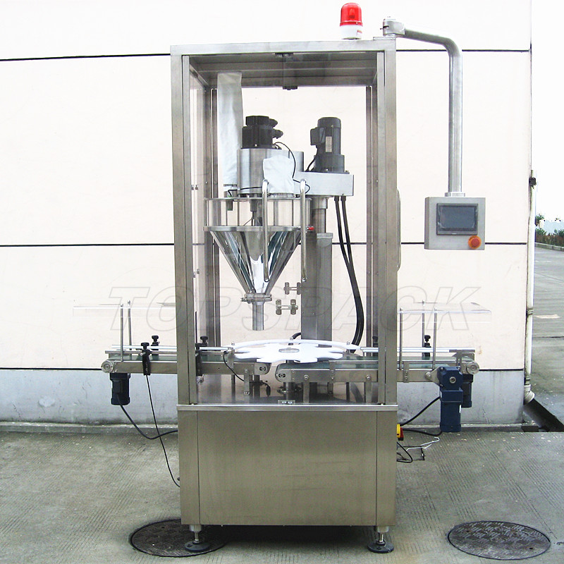 Floor Wax filling machine
