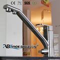 ABL Multi-purpose 3 way stainless steel kitchen faucet