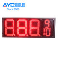 Big Size Red Gas Station Oil Price Changer 7 Segment Display Electronic LED Scoreboard
