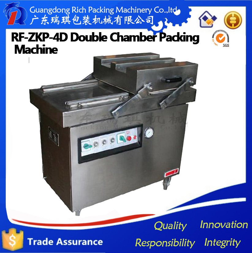 Fully food grade stainless steel fruit and vegetable vacuum packing machine