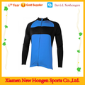 LOW MOQ top quality blue long sleeve cycling jerseys