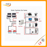 Factory supply high quality 400W home solar system