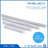 with dali dimmable led driver 30-60w led linear ip 65 waterproof light fixture