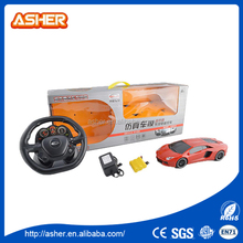 0012900014 1:18 STEERING WHEEL REMOTE CONTROL CAR Multicolor android control 4x4 rc toy car