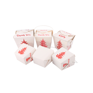 Disposable ECO-friendly Custom Printed paper noodle box