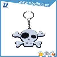 promotion gifts plastic wholesale keychain strap embroidery logo