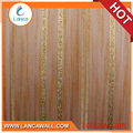 New Modern Fashion Elegant Pure Paper Wall Decor Coating For Sale Striped Wallpaper