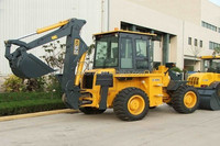 New Small Construction Equipment WZ30-25 9.5Tons 1CBM Bucket Backhoe Loader