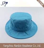 Wholesale OEM promotion cotton cheap bucket hat with metal eyelets