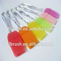 silicone bbq brush and round brush