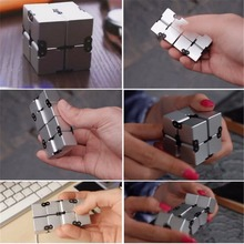 New Infinity Cube Fidget Cube Toy EDC For Stress Relief Anti-stress Magic Cube Desk Toys for Children and Adult