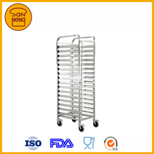 Customized industrial Bakery Bread Trolley