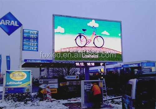 Asynchronous Full color P10 outdoor advertising led display,electronic information board, led display control software